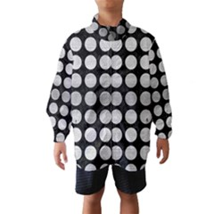 CIR1 BK MARBLE SILVER Wind Breaker (Kids)