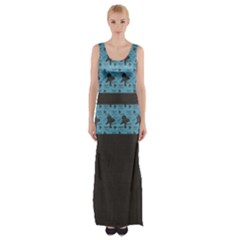 I Love Chocolate Lab Maxi Thigh Split Dress