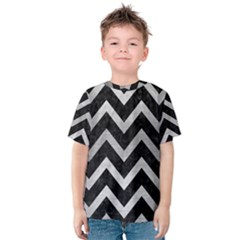 CHV9 BK MARBLE SILVER Kid s Cotton Tee