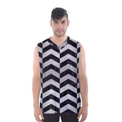 CHV2 BK MARBLE SILVER Men s Basketball Tank Top