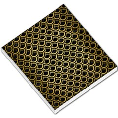 Scales2 Black Marble & Gold Brushed Metal Small Memo Pads