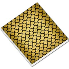 Scales1 Black Marble & Gold Brushed Metal (r) Small Memo Pads