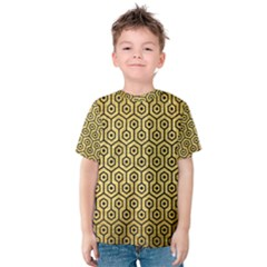 HXG1 BK MARBLE GOLD (R) Kid s Cotton Tee
