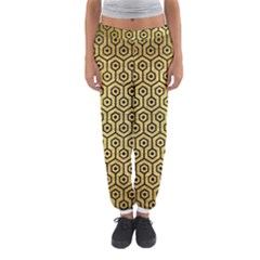HXG1 BK MARBLE GOLD (R) Women s Jogger Sweatpants