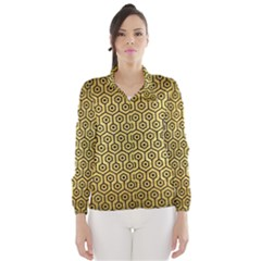 HXG1 BK MARBLE GOLD (R) Wind Breaker (Women)