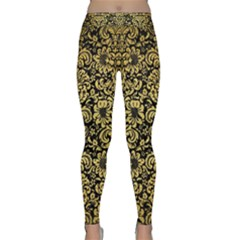 DMS2 BK MARBLE GOLD Yoga Leggings