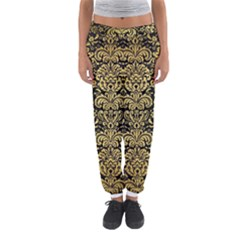 DMS2 BK MARBLE GOLD Women s Jogger Sweatpants
