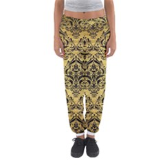 DMS1 BK MARBLE GOLD (R) Women s Jogger Sweatpants