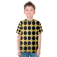 CIR1 BK MARBLE GOLD (R) Kid s Cotton Tee
