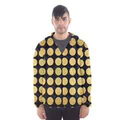 CIR1 BK MARBLE GOLD Hooded Wind Breaker (Men)