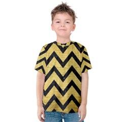 CHV9 BK MARBLE GOLD (R) Kid s Cotton Tee