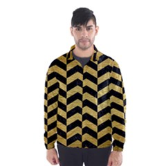 CHV2 BK MARBLE GOLD Wind Breaker (Men)