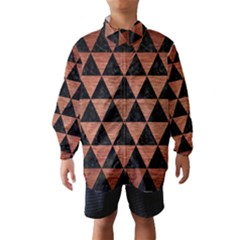 TRI3 BK MARBLE COPPER Wind Breaker (Kids)