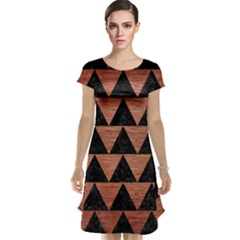 Triangle2 Black Marble & Copper Brushed Metal Cap Sleeve Nightdress