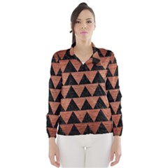 TRI2 BK MARBLE COPPER Wind Breaker (Women)