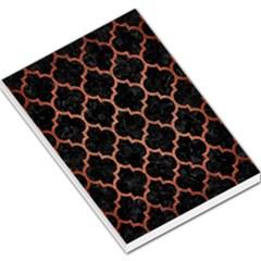 Tile1 Black Marble & Copper Brushed Metal Large Memo Pads