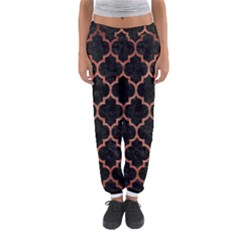 TIL1 BK MARBLE COPPER Women s Jogger Sweatpants