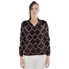 TIL1 BK MARBLE COPPER Wind Breaker (Women)