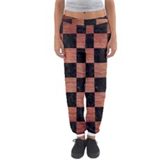 SQR1 BK MARBLE COPPER Women s Jogger Sweatpants