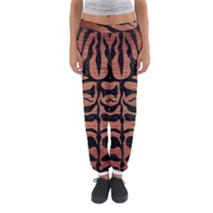Skin2 Black Marble & Copper Brushed Metal (r) Women s Jogger Sweatpants