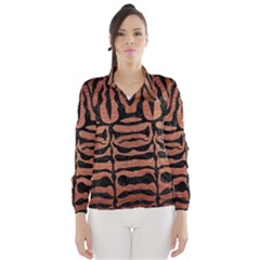 SKN2 BK MARBLE COPPER (R) Wind Breaker (Women)