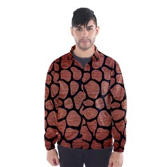 SKN1 BK MARBLE COPPER Wind Breaker (Men)