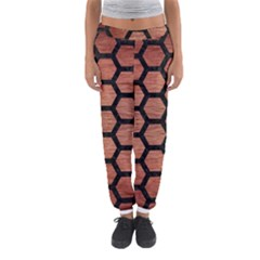 HXG2 BK MARBLE COPPER (R) Women s Jogger Sweatpants