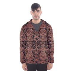 DMS2 BK MARBLE COPPER Hooded Wind Breaker (Men)