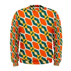 Chains And Squares Pattern  Men s Sweatshirt