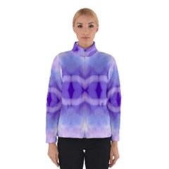 Beautiful Blue Purple Pastel Pattern, Winterwear