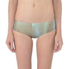Floating Subdued Orange And Teal Classic Bikini Bottoms