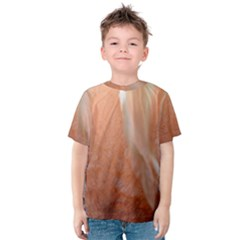 Floating Subdued Peach Kid s Cotton Tee
