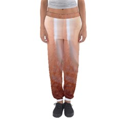 Floating Subdued Peach Women s Jogger Sweatpants
