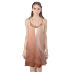 Floating Subdued Peach Camis Nightgown