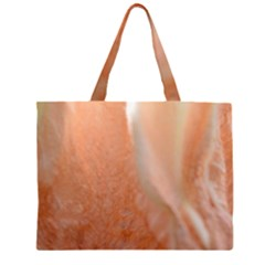 Floating Subdued Peach Large Tote Bag