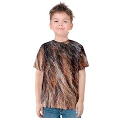 Black Red Hair Kid s Cotton Tee