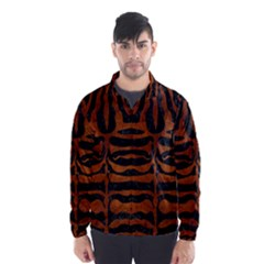 SKN2 BK MARBLE BURL Wind Breaker (Men)