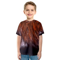 Red Hair Kid s Sport Mesh Tee