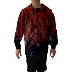 Red Hair Hooded Wind Breaker (kids)