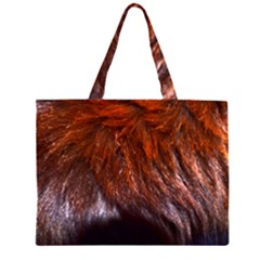 Red Hair Large Tote Bag