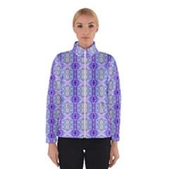 Light Blue Purple White Girly Pattern Winterwear