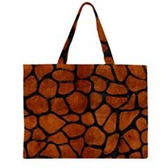 SKN1 BK MARBLE BURL Large Tote Bag