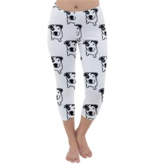 Pit Bull T-Bone Graphic Capri Winter Leggings