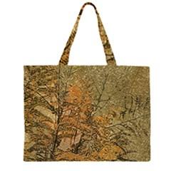 Floral Grunge Large Tote Bag