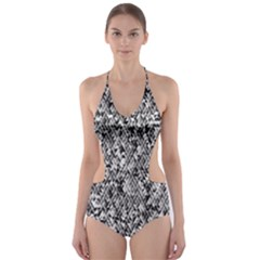 Modern Design 2 Cut Out One Piece Swimsuit
