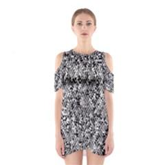 Modern Design 2 Cutout Shoulder Dress