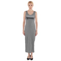 Modern Design 3 Fitted Maxi Dress