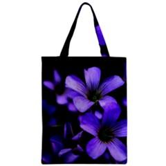Springtime Flower Design Zipper Classic Tote Bag