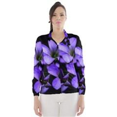 Springtime Flower Design Wind Breaker (Women)