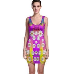 Over and under the rainbow is love Bodycon Dress